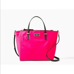Kate Spade Wilson Road Alyse Radish Pink Nylon